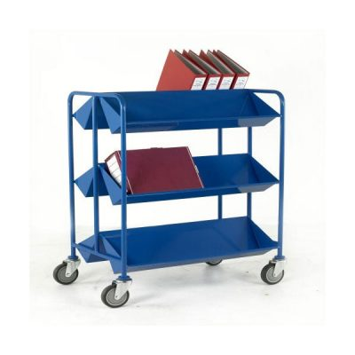 Book Trolley by Step and Store