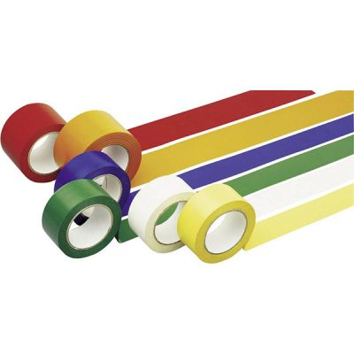Line Marking Tape by Step and Store