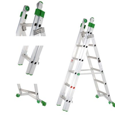 Industrial Combination Ladders by Step and Store