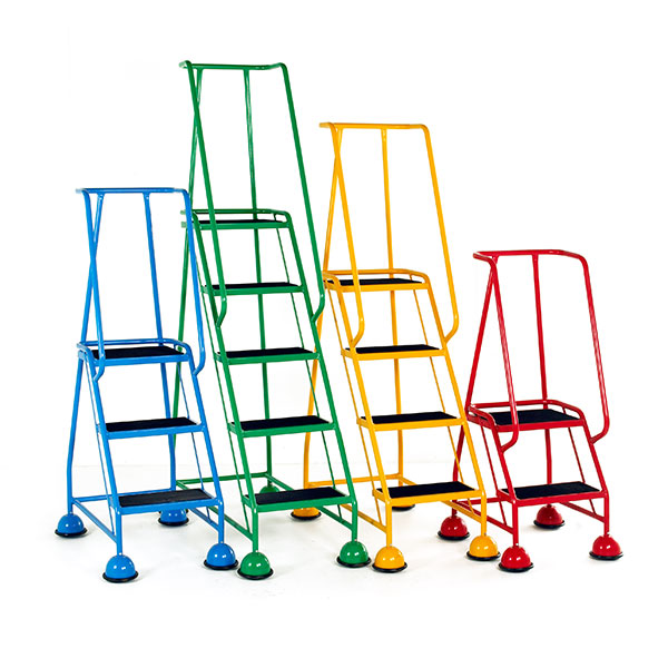 Classic warehouse ladder