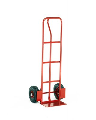 P Shape Handle Budget Sack Truck by Step and Store