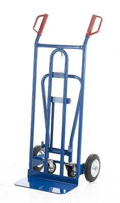 Heavy Duty 3 Position Sack Truck by Step and Store