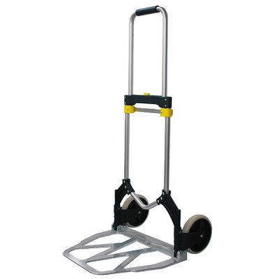 100kg - Telescopic Folding Sack Truck by Step and Store