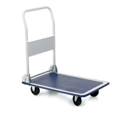 Folding Flatbed Trolley by Step and Store
