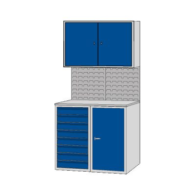 Euro Cabinet - ECA by Step and Store