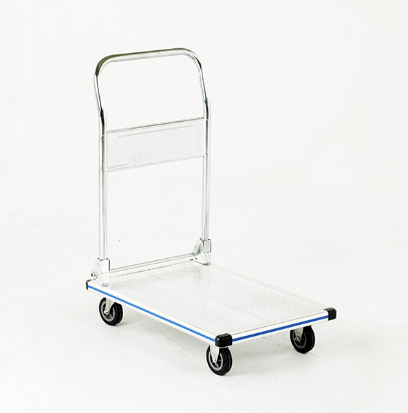 Budget Aluminium Platform Trolley by Step and Store