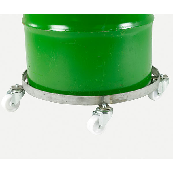 Stainless Steel Drum Dolly by Step and Store