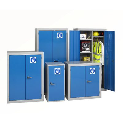 PPE Cabinet by Step and Store