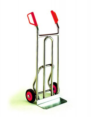 Stainless Steel Sack Truck by Step and Store