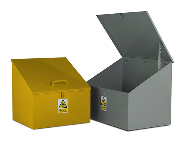 Sloping Top Bin by Step and Store