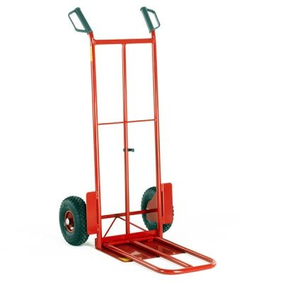 Budget Heavy Duty Sack Truck with Folding Toe by Step and Store