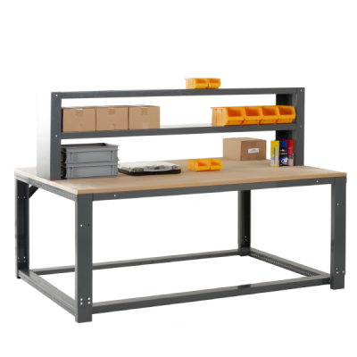Infinite Modular Workbench Starter Bench by Step and Store
