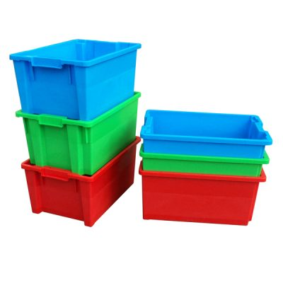 Stacked Containers