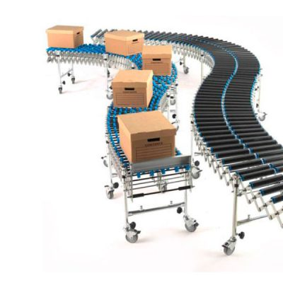 Expanding Conveyors - Roller by Step and Store