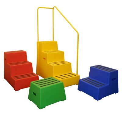 Excelsior Plastic Safety Steps at Step and Store