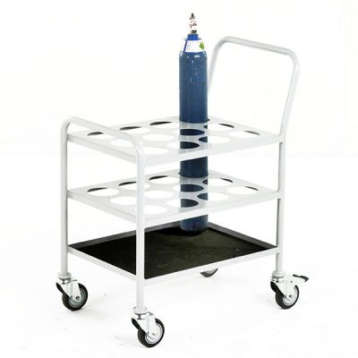 Small Cylinder Trolley by Step and Store