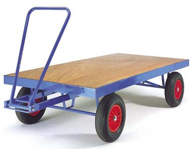 Heavy Duty Turntable Trailer by Step and Store