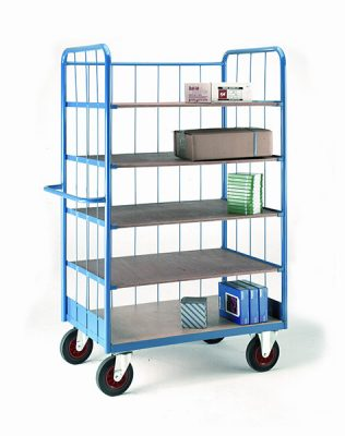 Shelf Truck with Rod Superstructure by Step and Store