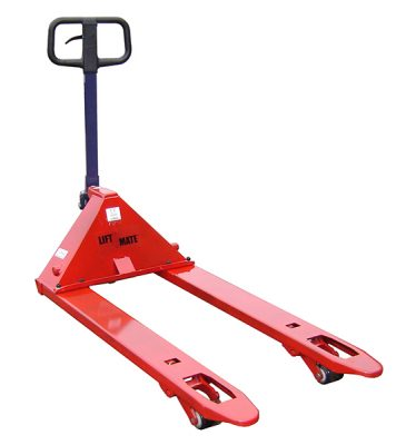 Adjustable Pallet Truck by Step and Store