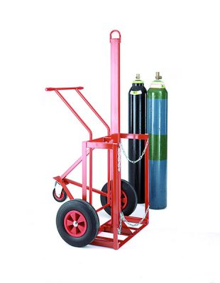 Cylinder Lifting Trolley by Step and Store