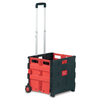 Folding Box Trolley by Step and Store