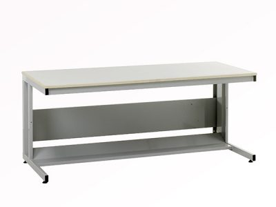 Cantilever frame workbench