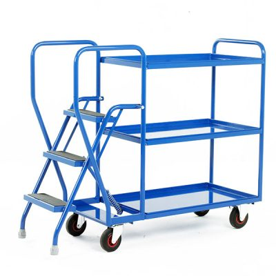 Step Tray Trolleys