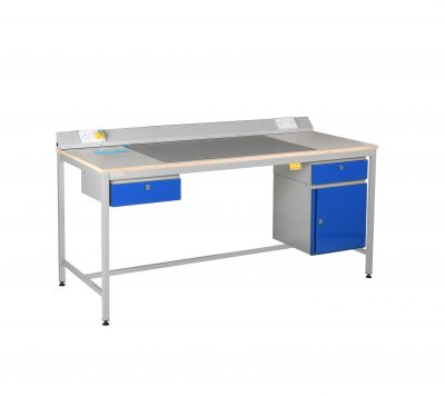 ESD Antistatic Square Tube Workbench by Step and Store
