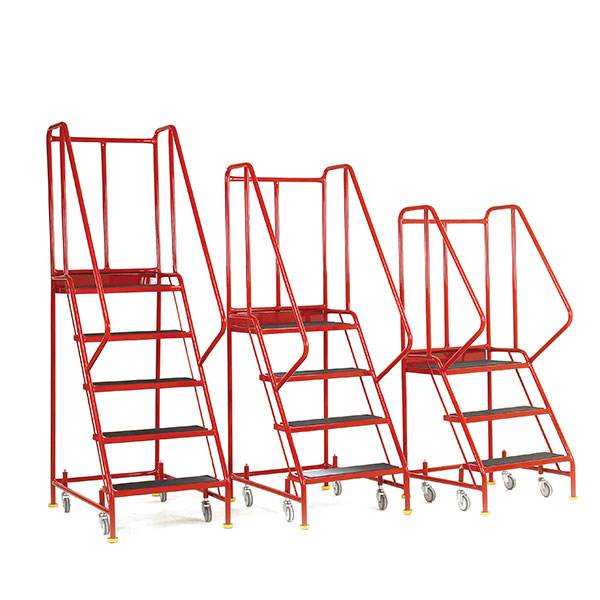 4 Step Ladder Premier Commercial by Step and Store