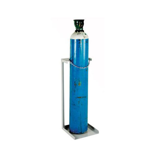Economy Static Cylinder Floor Stands by Step and Store