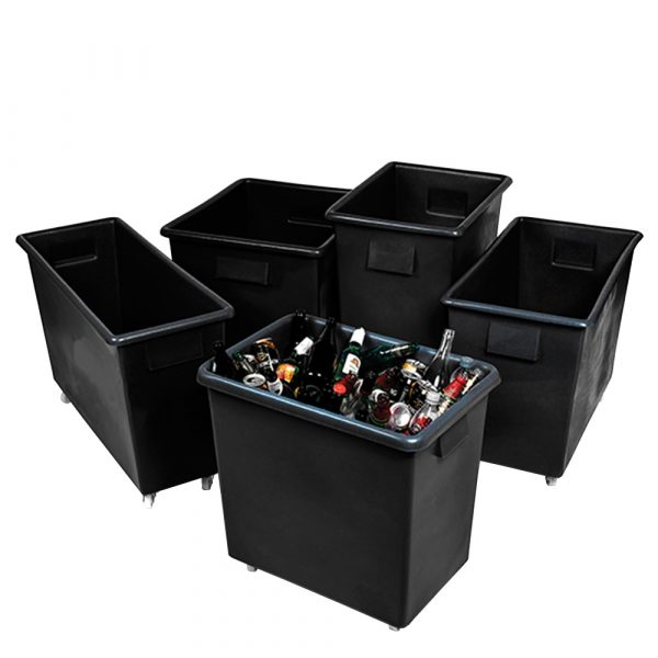 Large Plastic Bins | Step and Store
