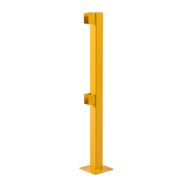 Walkway Barriers - Lift Out Barrier Post by Step and Store