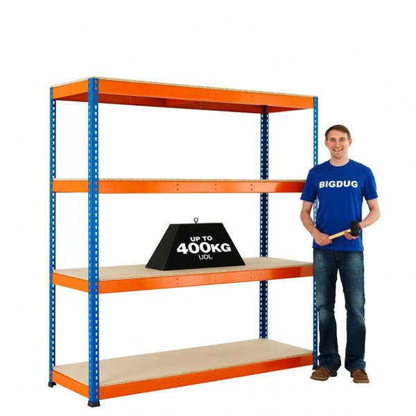 Big400 Boltless Shelving Extra Shelf by Step and Store