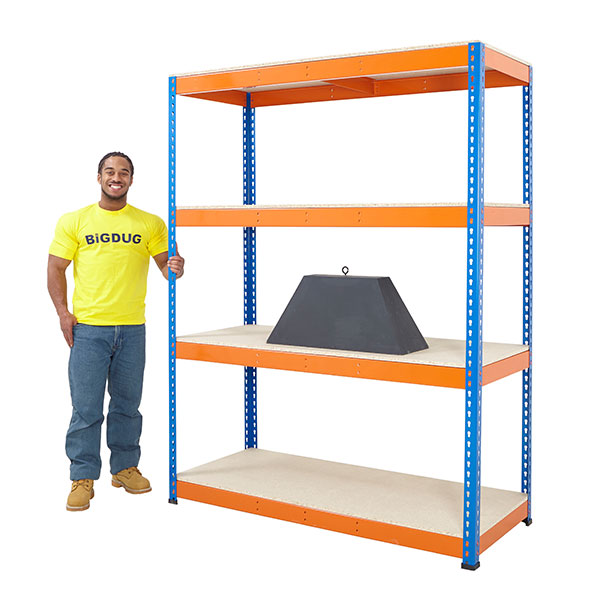 Big800 Boltless Shelving by Step and Store