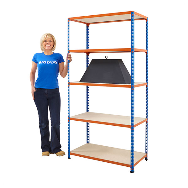 Big200 Shelving Extra Level by Step and Store