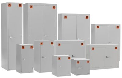 Coshh Storage Cabinets by Step and Store