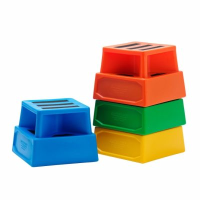 Plastic Step Stool by Step and Store