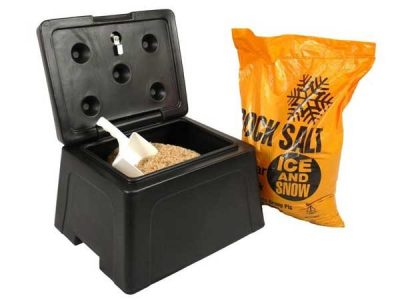 Mini Grit Bin 25kgs by Step and Store