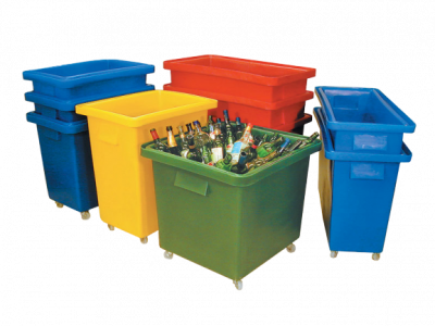 Wheeled Plastic Storage Boxes