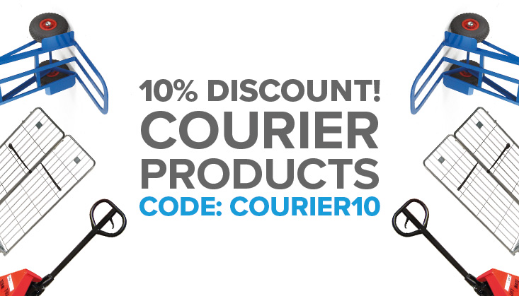 10% Discount on Courier Products!