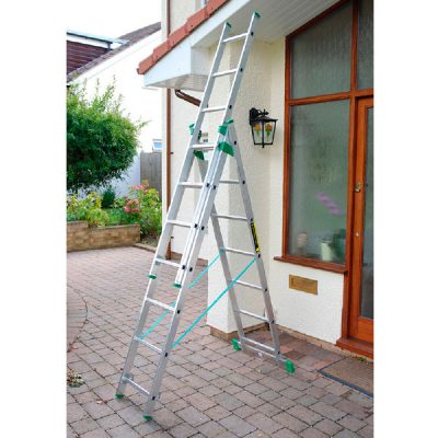 Horizon 4 way combi ladder (1300-003) - Step and Store