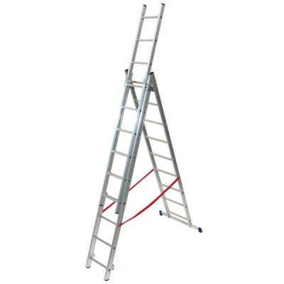 Light Duty Combination Ladders by Step and Store