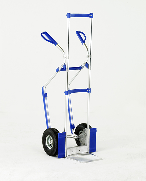 Aluminium Sack Truck with Folding Toe by Step and Store
