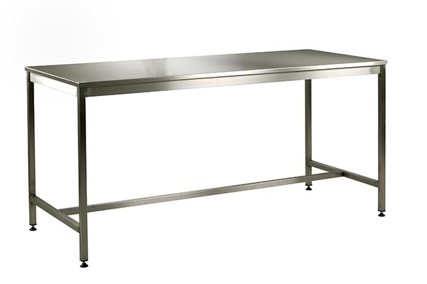 Medium Duty Stainless Steel Workbench by Step and Store