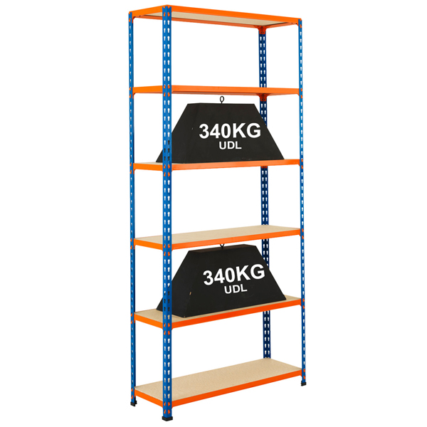 Big 340 Shelving by Step and Store
