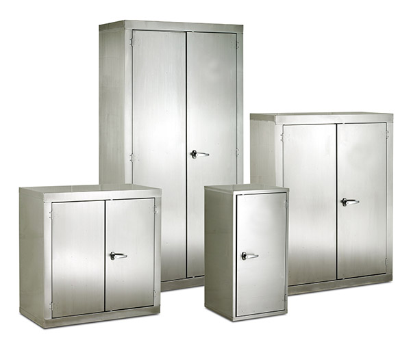 Stainless Steel CB Cupboard by Step and Store