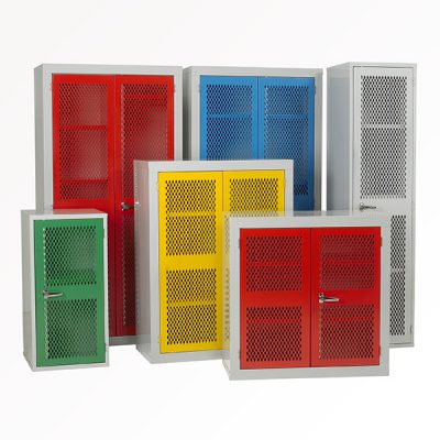 Mesh Door Cabinet by Step and Store