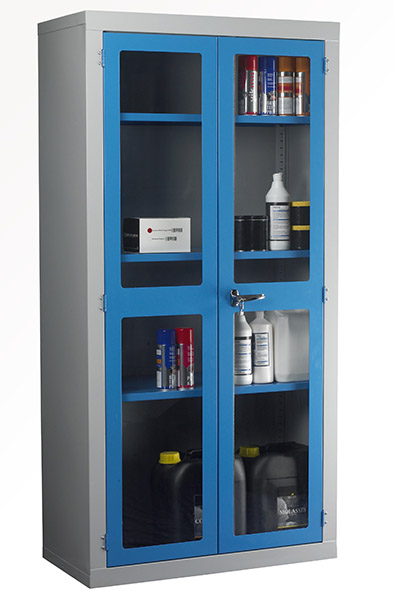 Polycarbonate Door Cabinet by Step and Store