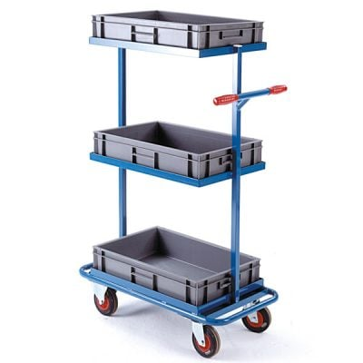 Mobile Tray Rack by Step and Store