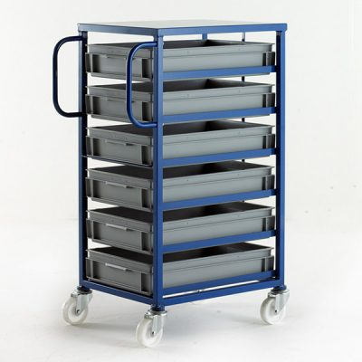 Mobile Tray Racks by Step and Store